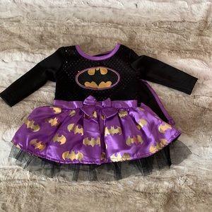 Batgirl baby dress